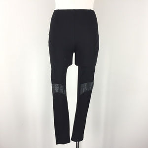 Amanda Uprichard AnthroXS Black Ponte Legging